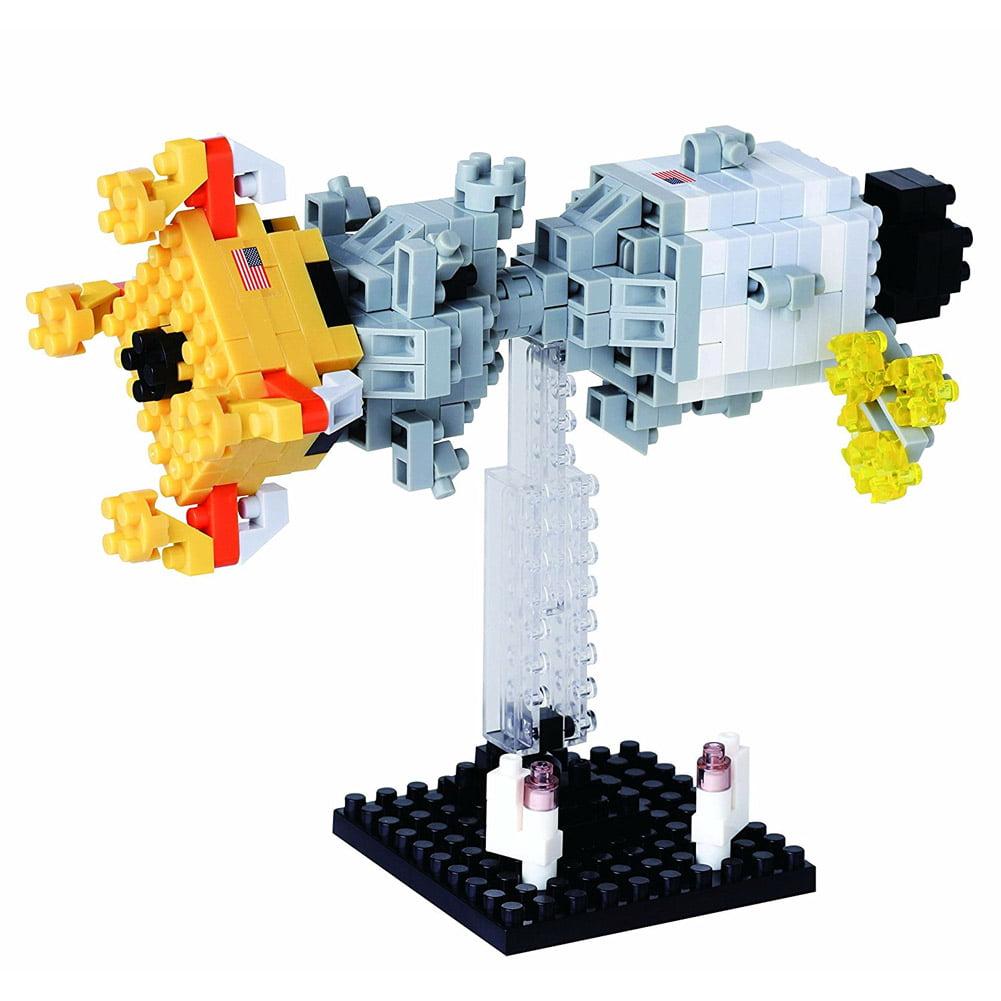 Nanoblock Lunar Landing Building Kit 3D Puzzle by nanoblock