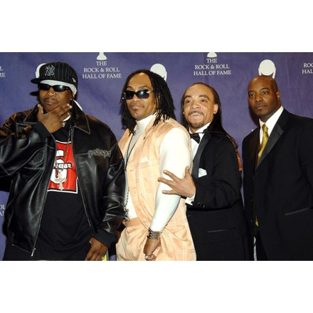 Scorpio Mele Mel Kid Creole Rahiem Of Grandmaster Flash And The Furious Five Inductees In The Press Room For Induction Ceremony Rock And Roll Hall Of Fame Waldorf-Astoria Hotel New York Ny March 12 (Grandmaster Flash & The Furious Five Scorpio)