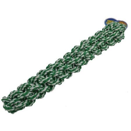- Amazing Pet Products Retriever Rope Dog Toy, 18-Inch, Green Multi-Colored