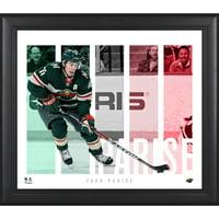 "Zach Parise Minnesota Wild Framed 15"" x 17"" Player Panel Collage"