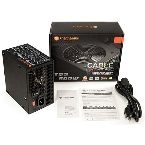Thermaltake TR2-600NL2NC ATX12V and EPS12V Power Supply