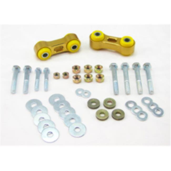 Whiteline KLC32 Stabilizer Bar Link Kit - Yellow - 2.56 In.