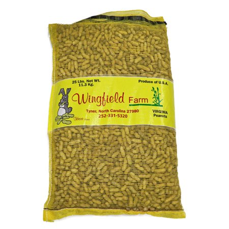 Wingfield Farm Virginia In-Shell Peanuts, 25 Pound (Best Peanuts In The Shell)