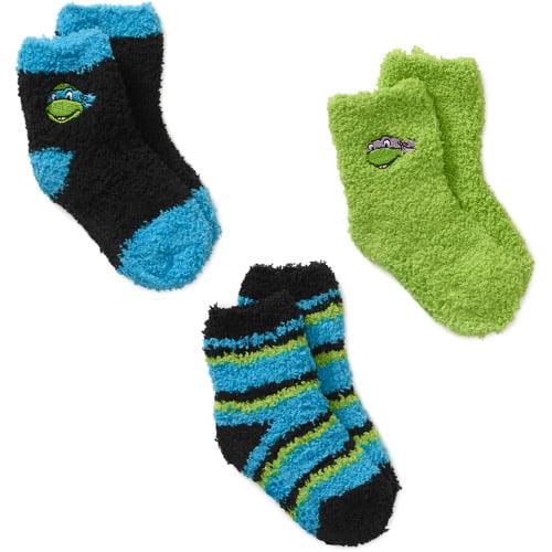 Teenage Mutant Ninja Turtles Baby Toddler Boy Socks, 3-Pack