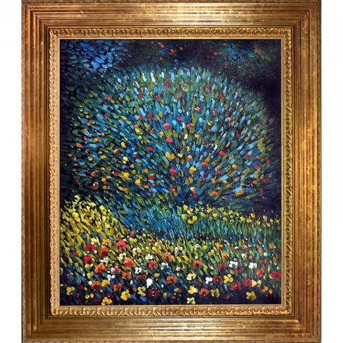 Wildon Home  Apple Tree I by Gustav Klimt Framed Original Painting