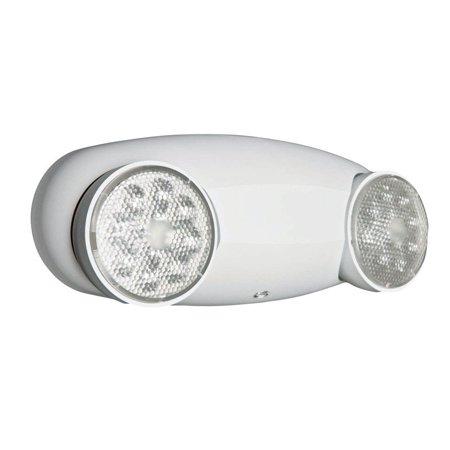Lithonia Lighting 245U5C LED Glass Emergency Light, White