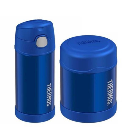 Thermos Funtainer Insulated 12oz Drink Bottle and 10oz Food Jar (Blue) Thermos Funtainer Insulated 12oz Drink Bottle and 10oz Food Jar (Blue) condition: New Brand: ThermosMPN: F4013BL6_K1Manufacturer: Thermos