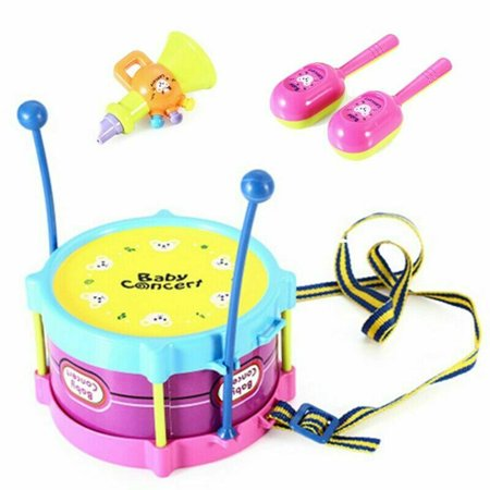 AkoaDa Kids' Musical Toy 5 Pieces Of Jazz Drum Set Combination Puzzle Toy Lovely Best - Best Online Shopping Sites For Kids