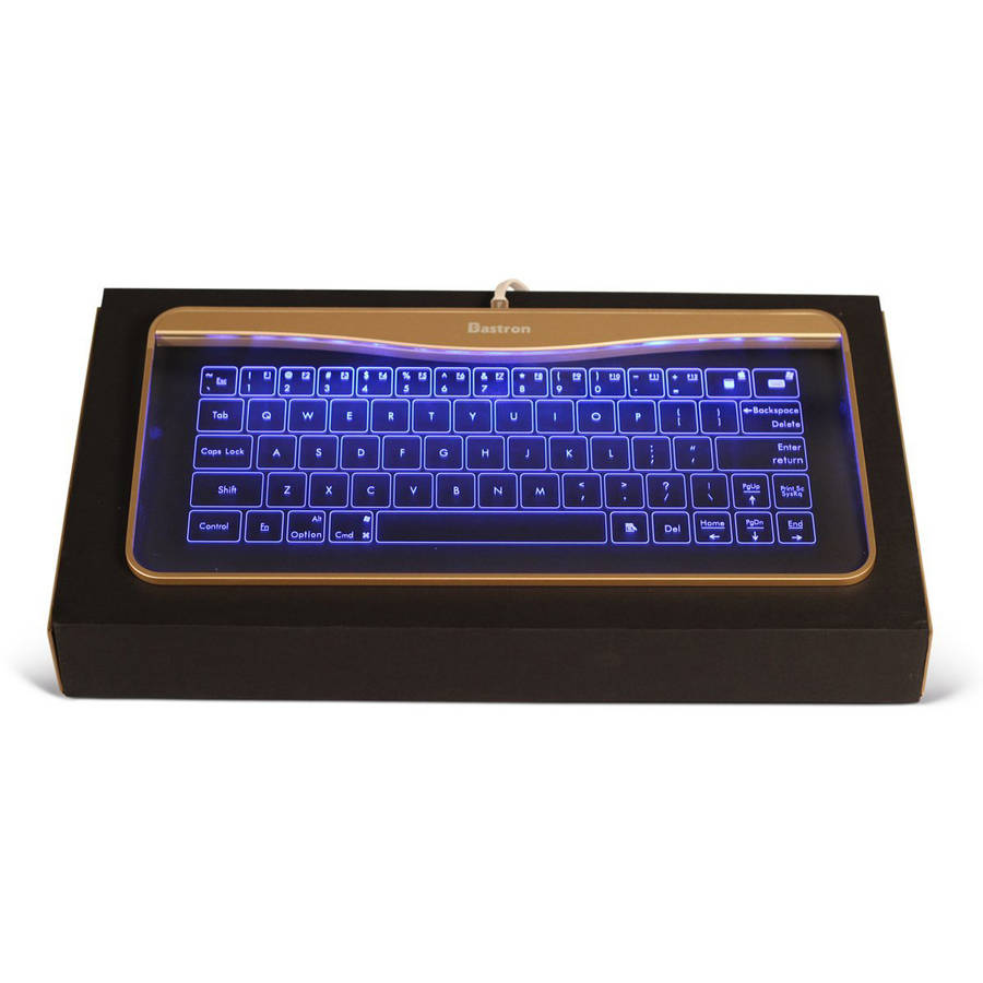 Bastron Glass Touch Smart Keyboard with Gesture Controls