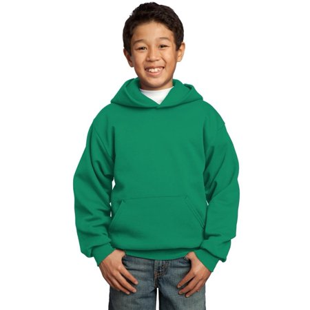 Purdue Youth Fleece Pullover (Port & Company Youth Core Fleece Pullover Hooded Sweatshirt, Assorted Colors)