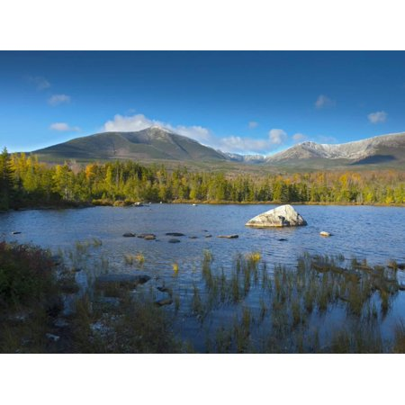 Sandy Stream Pond, Baxter State Park, Maine, New England, United States of America, North America Print Wall Art By Alan Copson