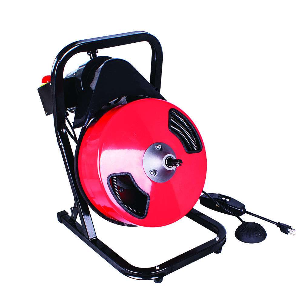 "THEWORKS 1/2"" x 50ft Compact Power Drain Cleaner"
