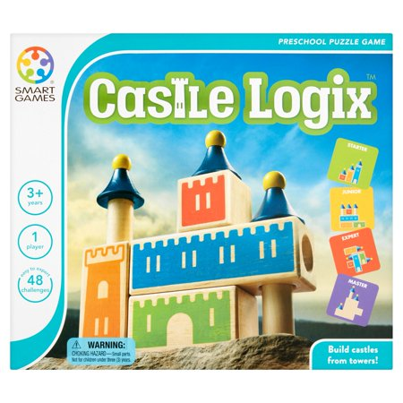 Smart Games Castle Logix Preschool Puzzle Game 3+ Years - Preschool Class Halloween Games