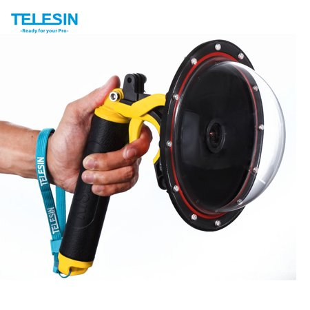 Zoom Underwater Camera Housing (TELESIN 6