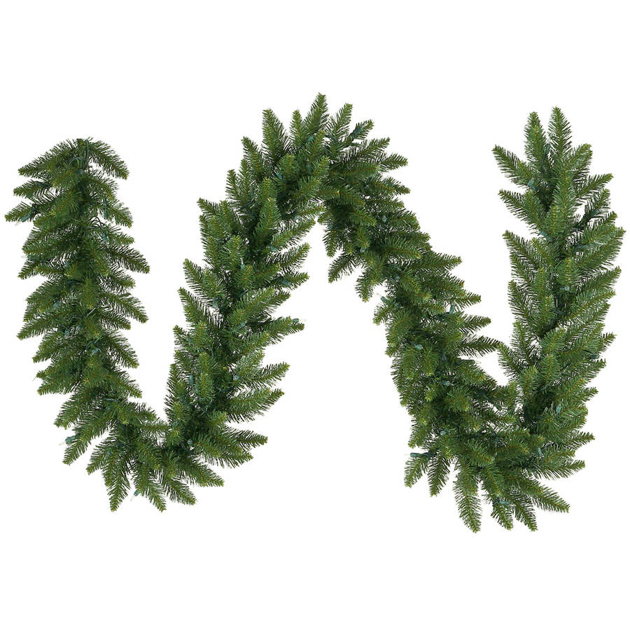"Vickerman 9' x 16"" Camdon Fir Garland 280 Tips"