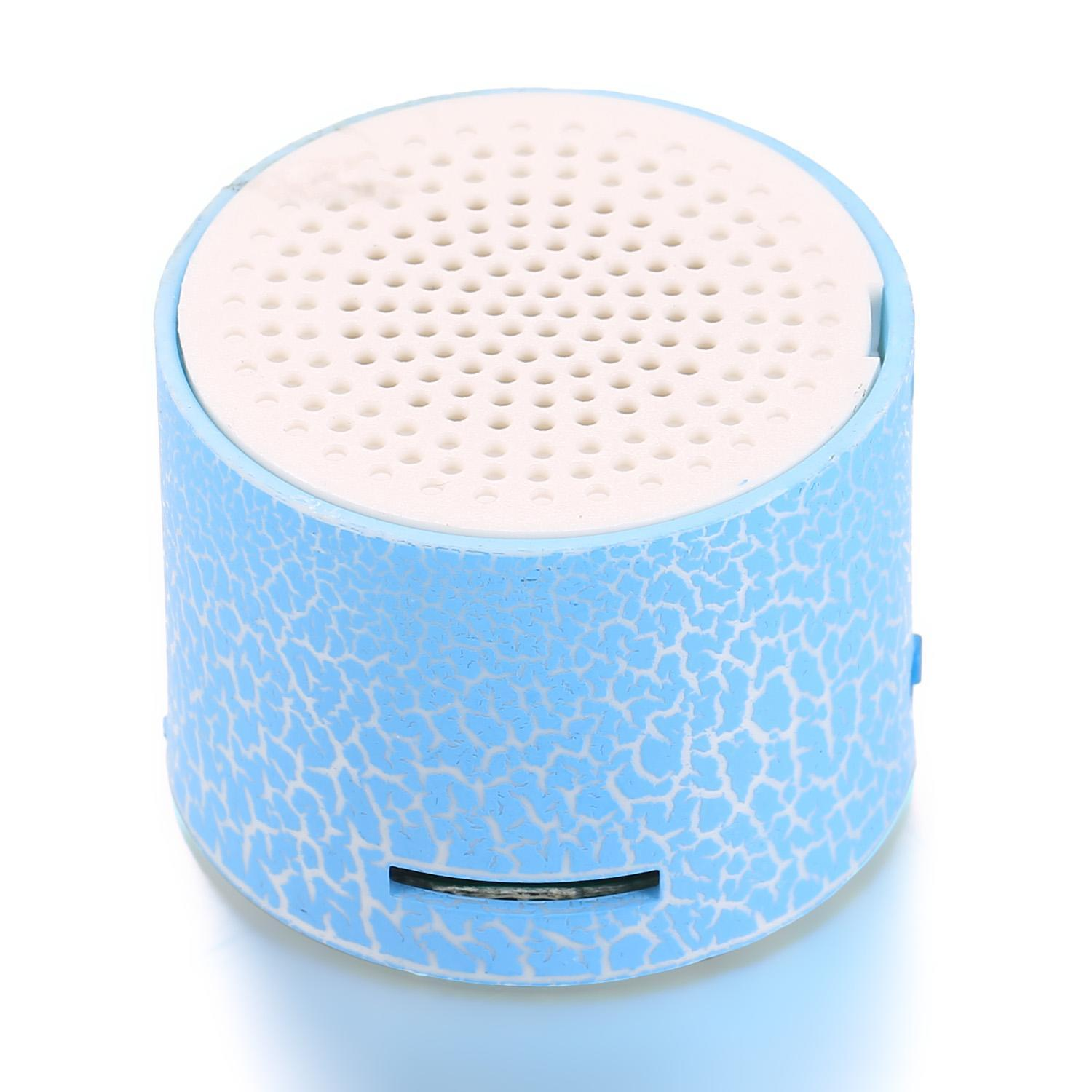 Mini Portable LED Speakers Wireless Hands Free Speaker with TF Port FSBR