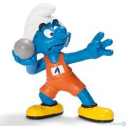 Shot Put Smurf Figurine by Schleich