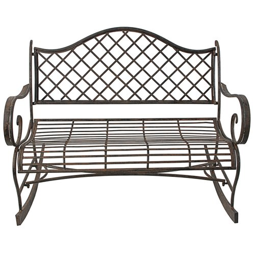 Darby Home Co Alisz Outdoor Rocking Bench