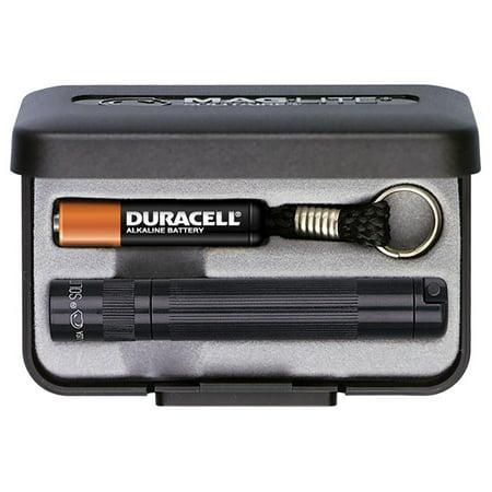 Mag Solitaire Flashlight, Black Present Box (Black Present Box)
