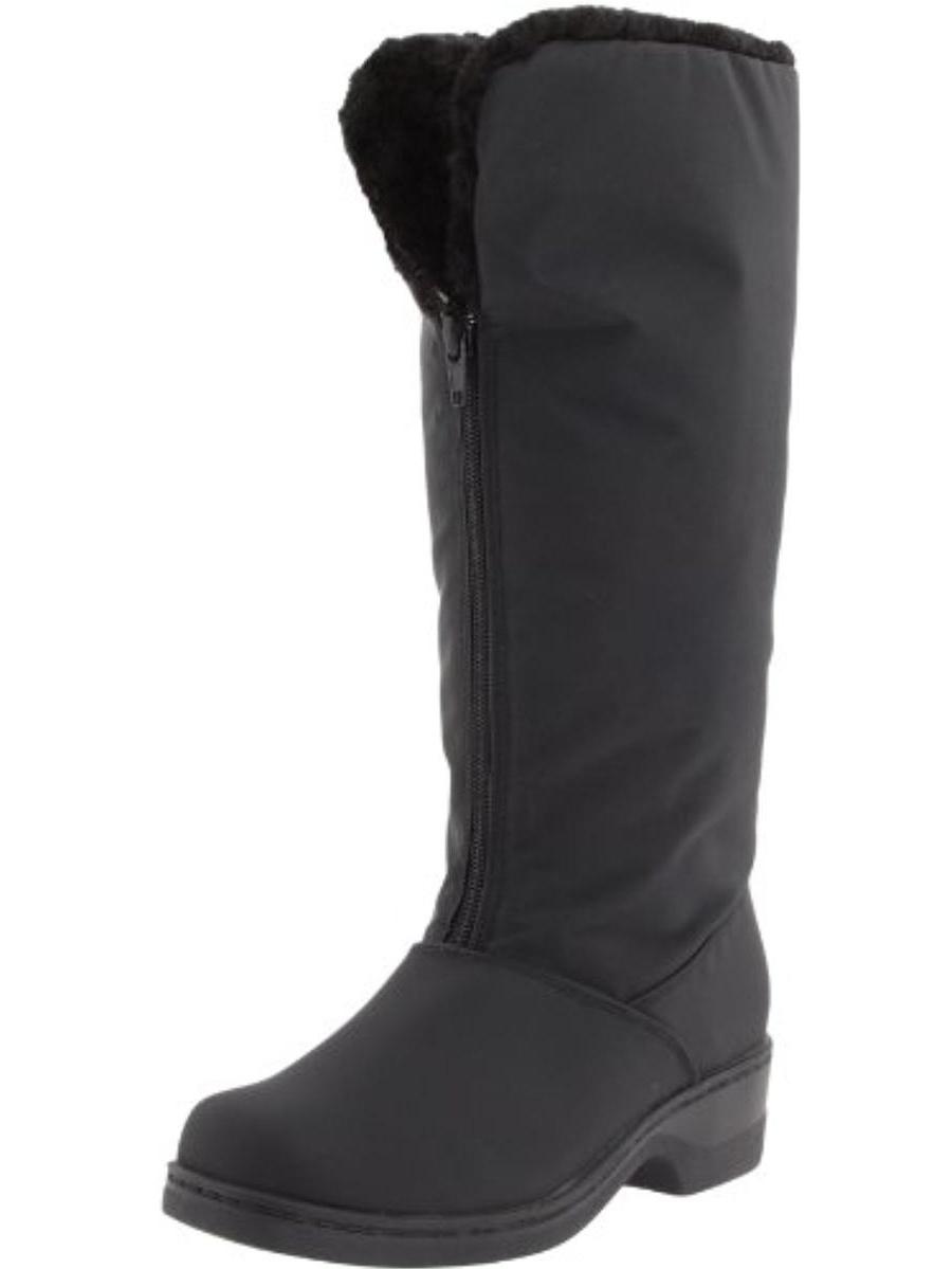 Tundra Boots Womens Alice Faux Fur Waterproof Winter Boots