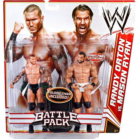 Wwe Randy Orton/mason Ryan 2pk Fig