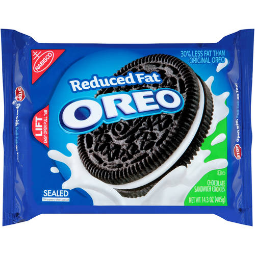 Nabisco Oreo Reduced Fat Chocolate Sandwich Cookies, 14.3 oz