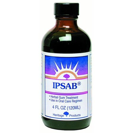 Heritage Products Ipsab Herbal Gum Treatment, 4 Oz