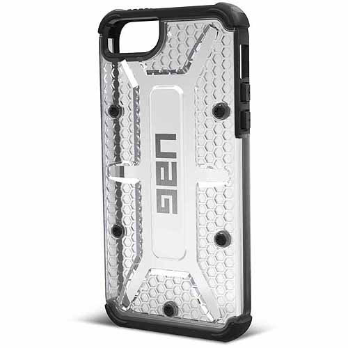 Urban Armor Gear Maverick Case with Screen Protector for Apple iPhone 5SE/5s, Ice Clear
