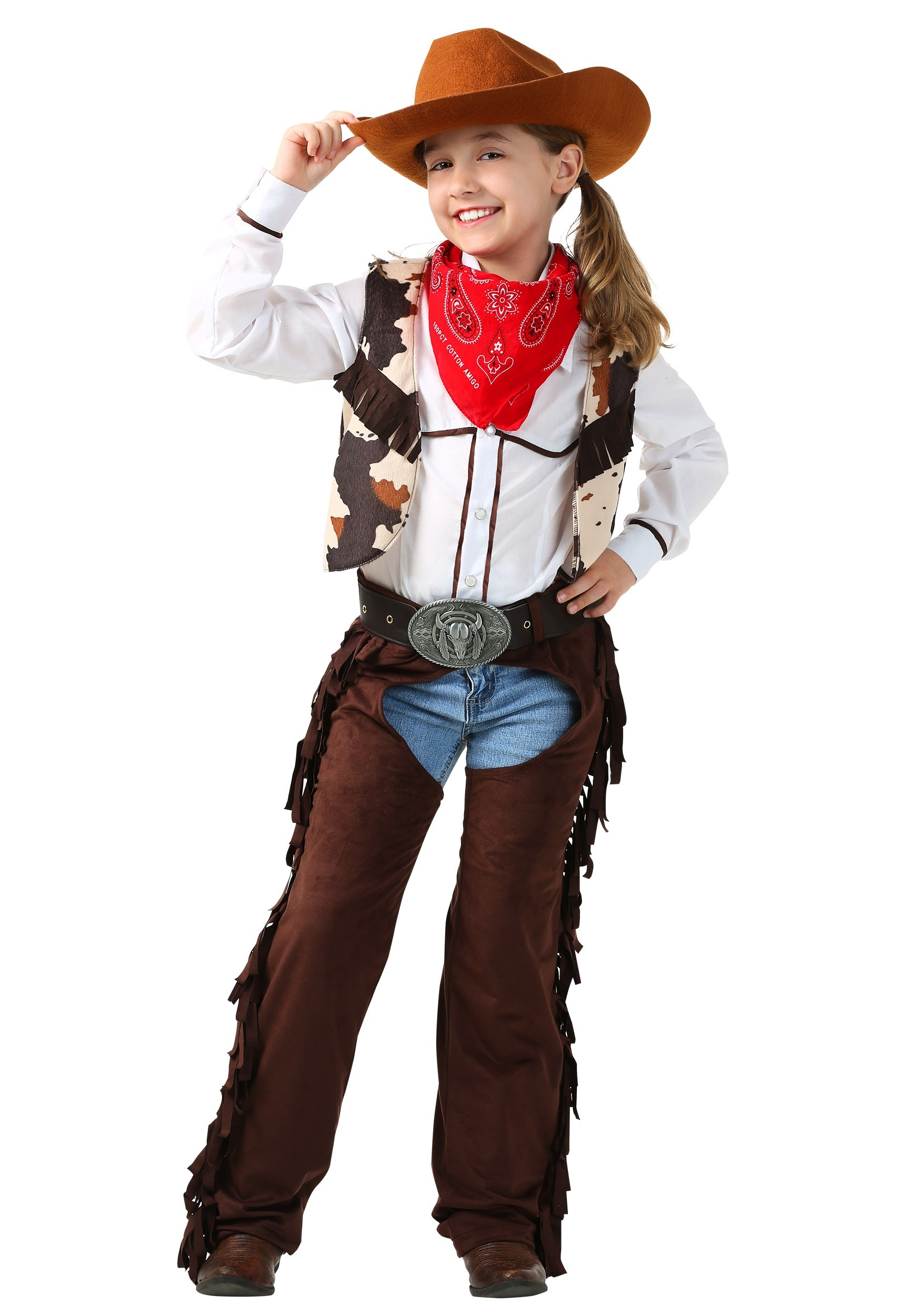 Child Cowgirl Chaps Costume - Walmart.com