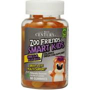 21st Century Zoo Friends Smart Kids Omega Plus DHA Gummies 60 Each