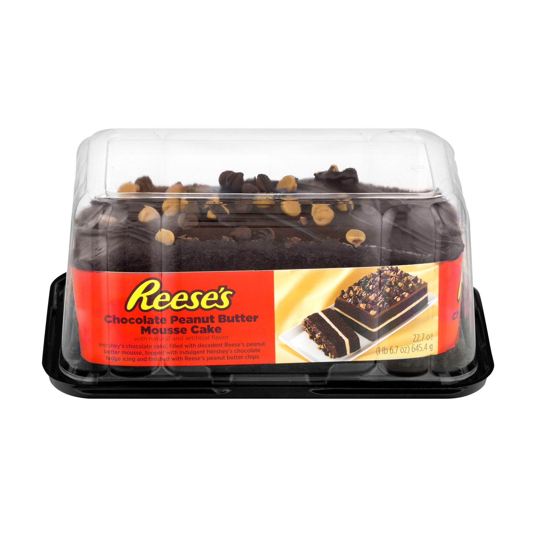 Reese's Chocolate Peanut Butter Mousse Cake, 22.7 OZ