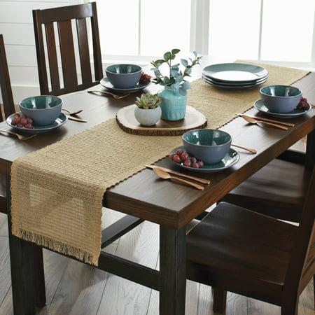 Better Homes And Gardens Table Runner Natural Walmart Com