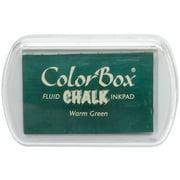 ColorBox Fluid Chalk Ink Pad-Warm Green