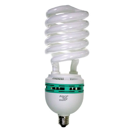 ALZO 85W CFL Photo Light Bulb 5500K, 4250 Lumens, (85w Cfl Light Bulb)