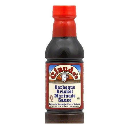 Claude's BBQ Brisket Marinade Sauce, 16 OZ (Pack of (Best Bbq Chicken Marinade Ever)
