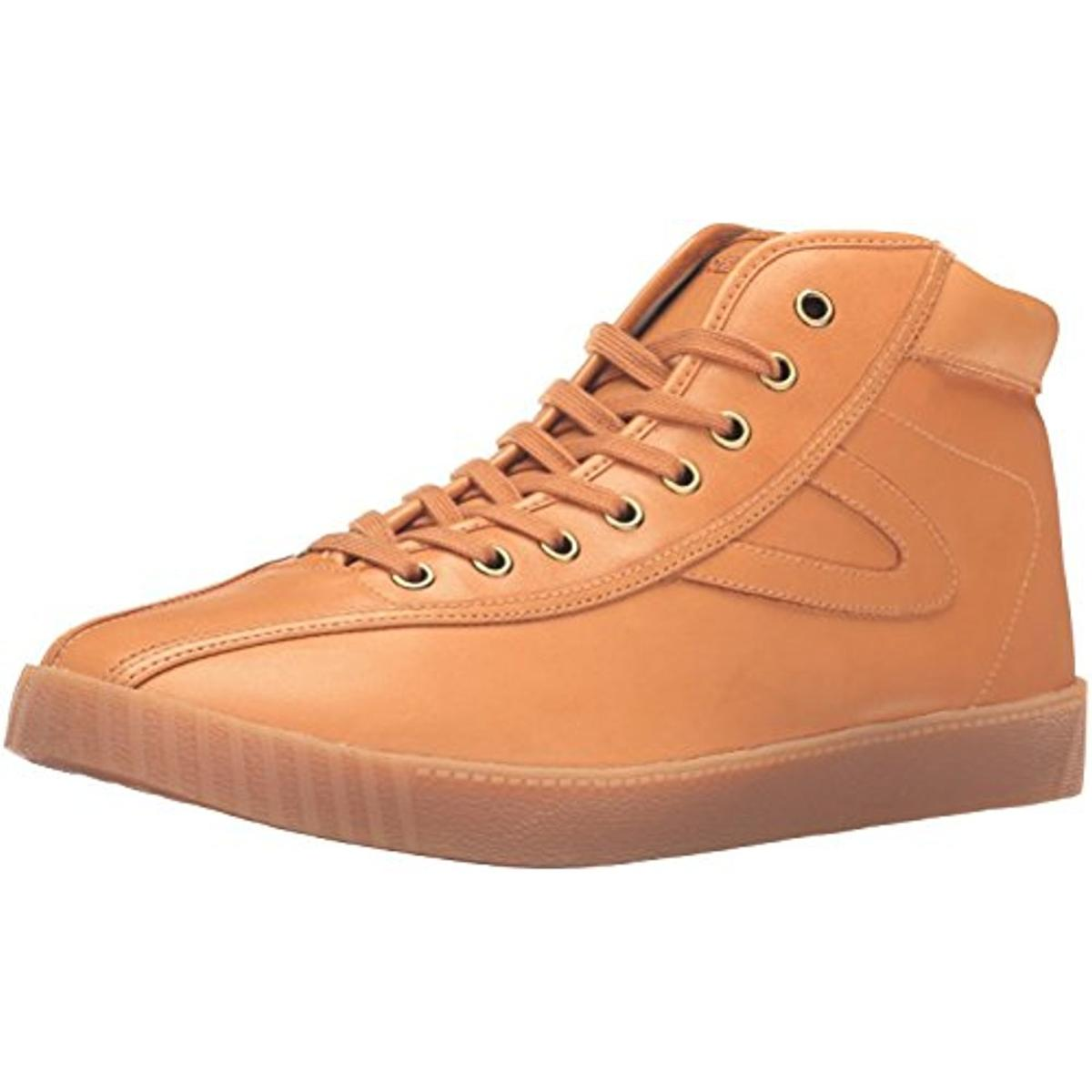 Tretorn Mens Nylite Hi6 Casual Leather Fashion Sneakers by Tretorn