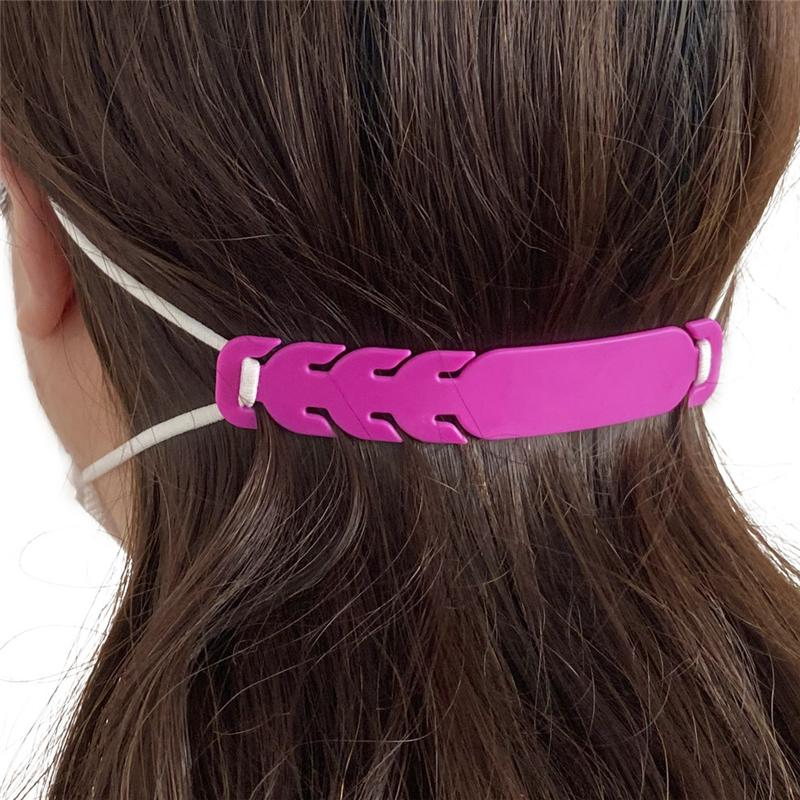 10 Pcs Mask Ear Hook Strap Buckle 3 Gears Adjustable Anti-Slip Ear Hook for Various Mask Special for Relieving Long-time Wearing Ears Pressure