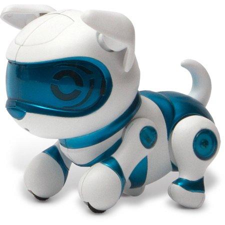 Tekno Robotic Pets  Newborn Puppy  Blue