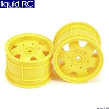 Tamiya 0555081 RC Rear Wheels: DT-01 Fighter Buggy - (2 pieces)