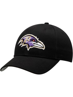 Baltimore Ravens Basic Alternate Adjustable Hat - Black - OSFA