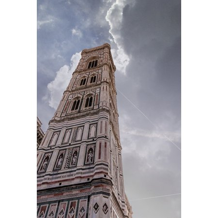 Framed Art for Your Wall Campanile Tuscany Duomo Florence Giotto 10x13 (Best Time To Visit Florence Tuscany)