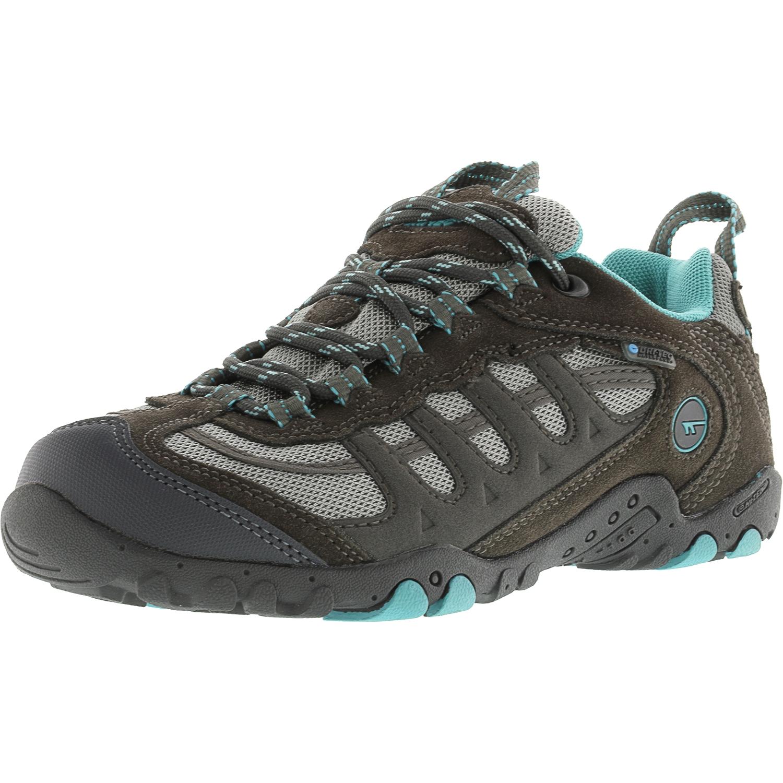 Hi-Tec Women's Penrith Low Waterproof Steel Grey   Aqua Ankle-High Fabric Hiking Shoe 5.5M by Hi-Tec