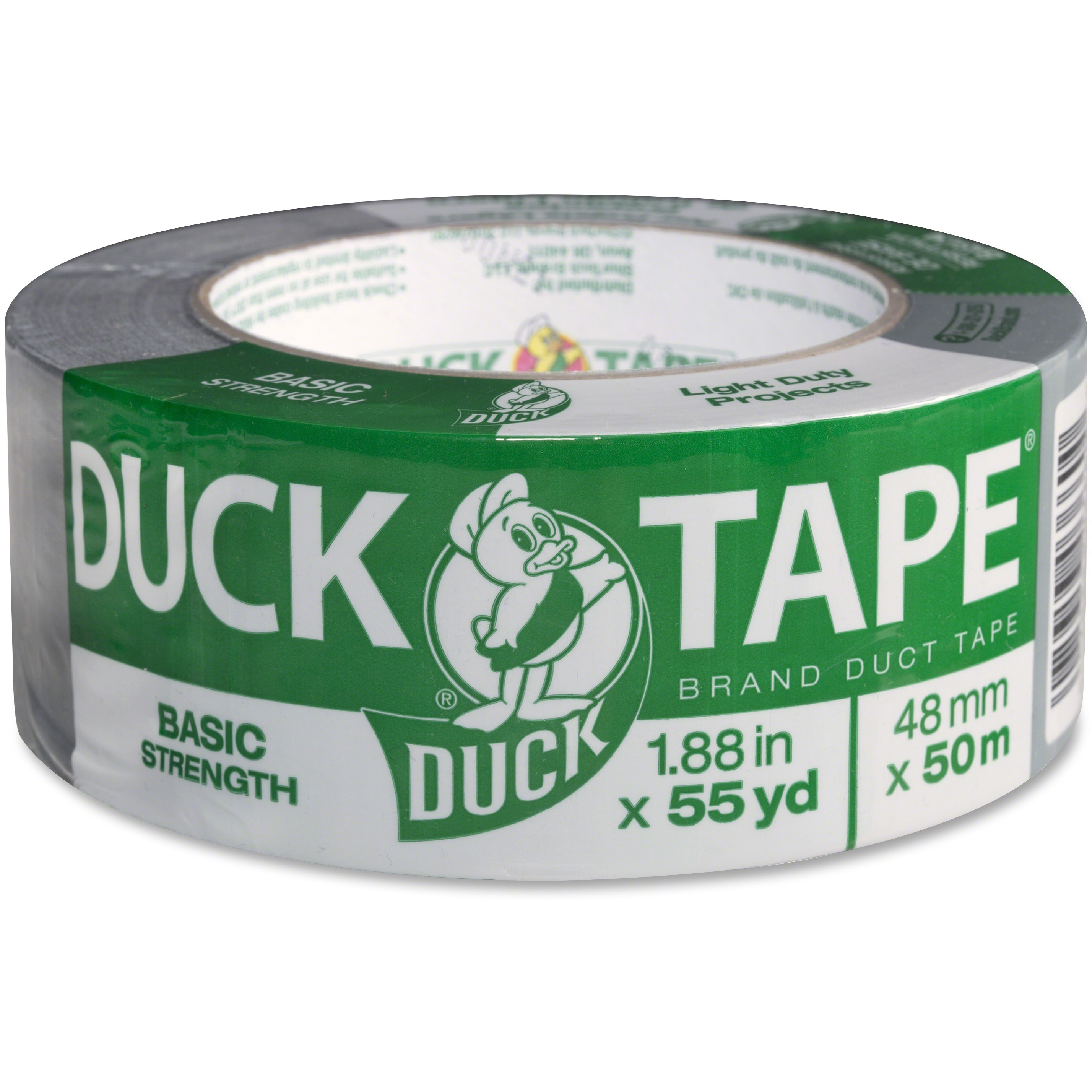Duck Brand Basic Strength Duct Tape, 1.88 in. x 55 yd., Gray