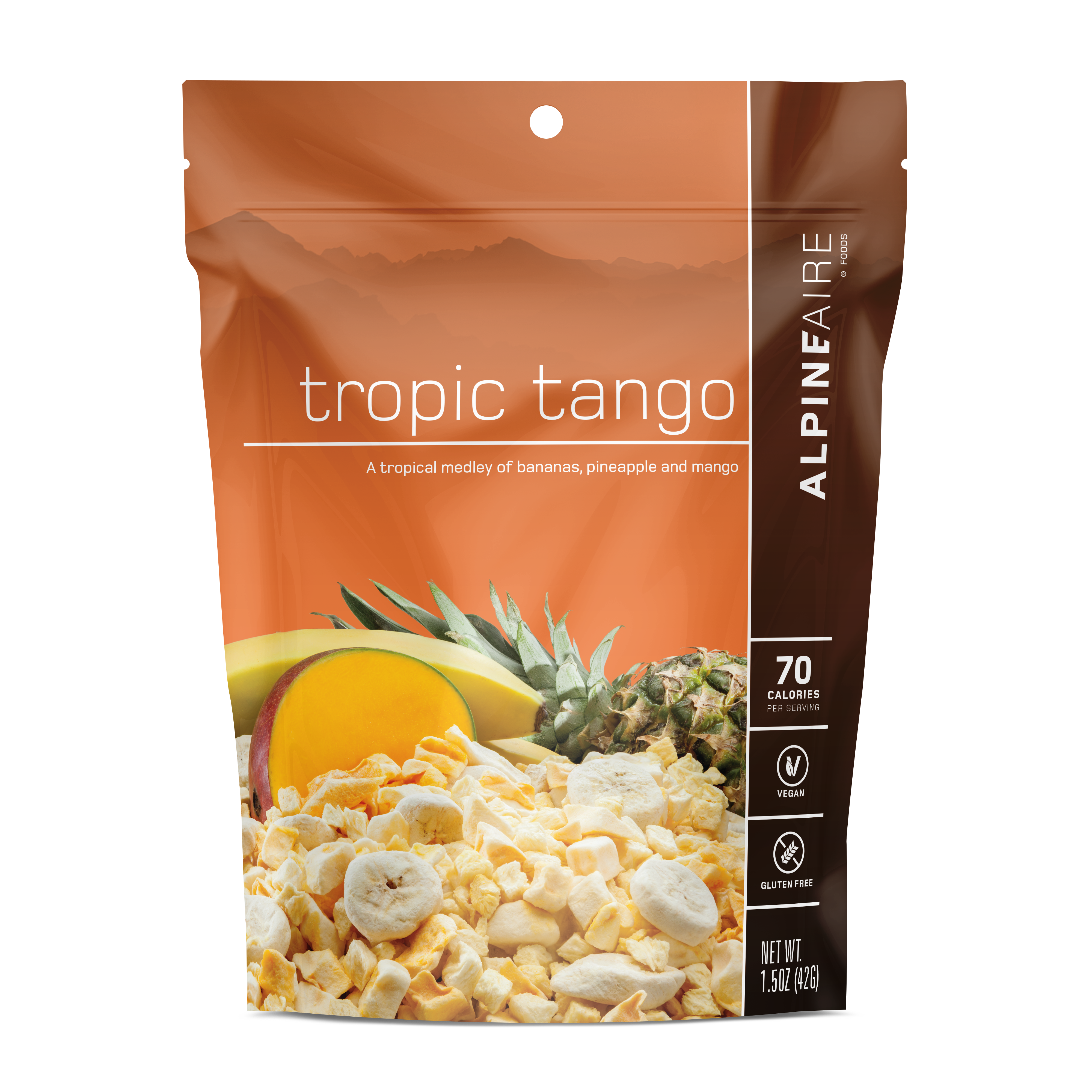 AlpineAire Foods 30115 Tropic Tango Freeze Dried Fruit Blends