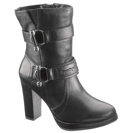 b3d80b51cb244b Harley-Davidson - Ankle Boots Side Zip Covered platform Synthetic ...