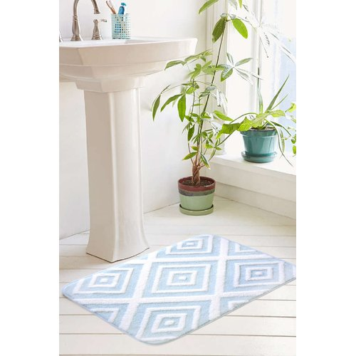 Farrah Collection Plush Memory Foam Bath Mat By Home