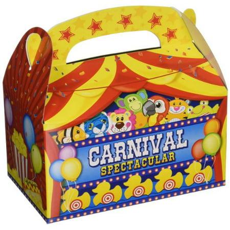 Adventure Planet Carnival Treat Boxes (Bulk Pack of 12 - Carnival Treats