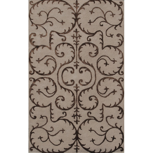Noble House Amber Beige Area Rug