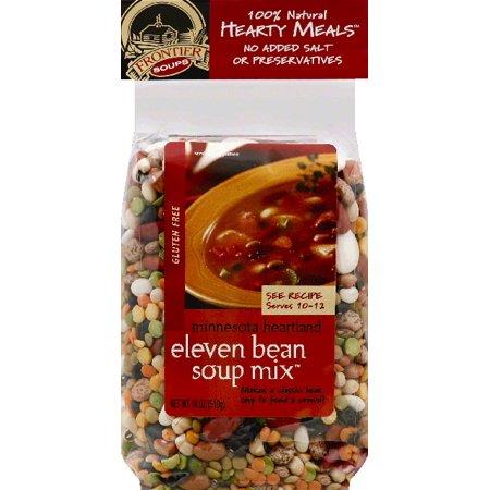 Frontier Soups Soup Mix  Eleven Bean  Gluten Free