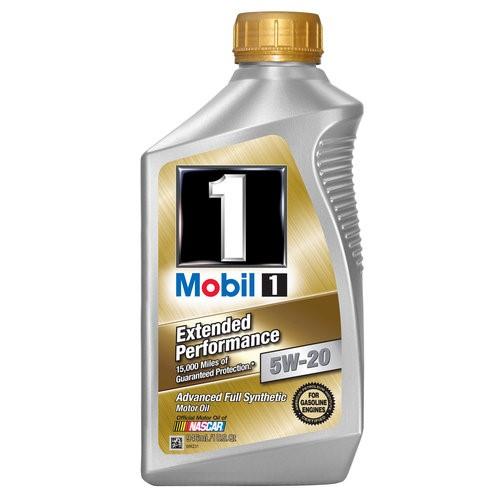 Mobil 1 5w-20 extended performance full synthetic motor oil, 1 qt.